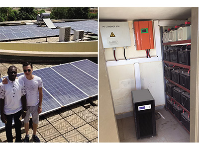 50KVA Off Grid Photovoltaic Power Supply System For Africa