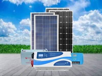 Main equipment of photovoltaic off-grid system